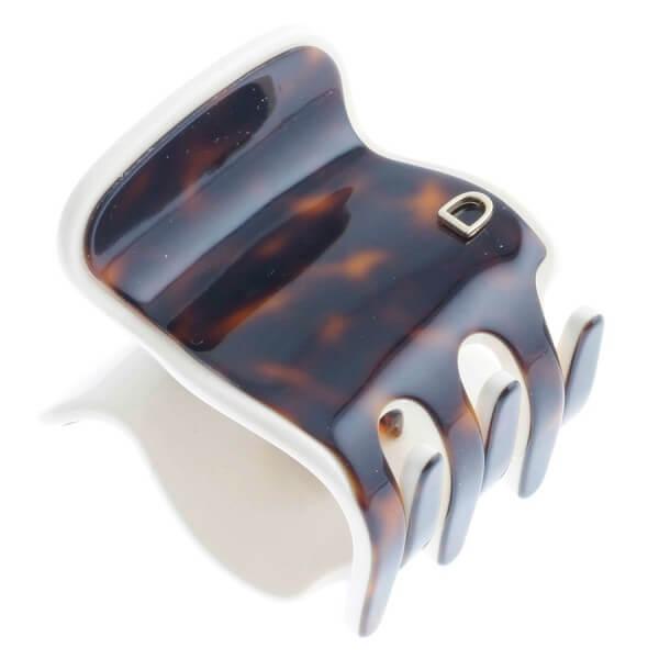 Devisage - Devisage - Klemme handmade tortoise ohne Metall 4.5cm