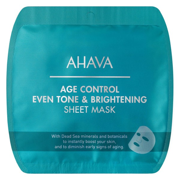 Image of DeadSea Minerals - Age Control Even Tone & Brightening Sheet Mask